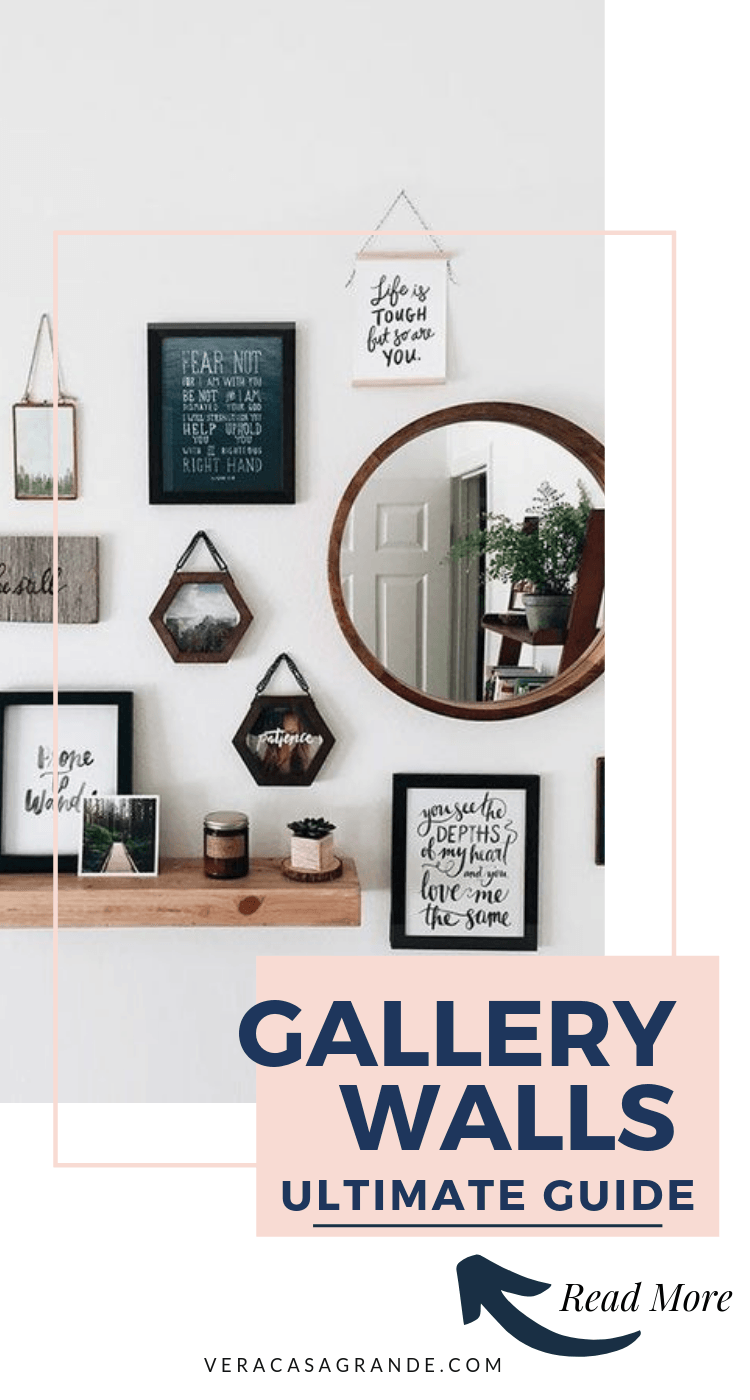 how to make gallery walls