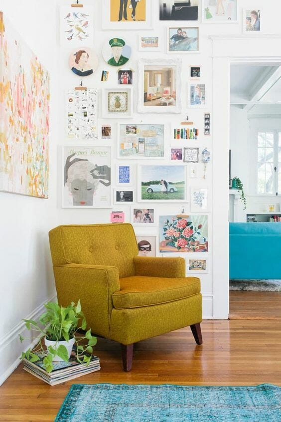 gallery walls, picture gallery walls, photo walls