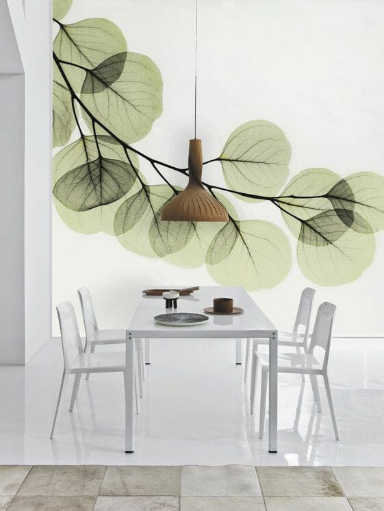 living room wall paper
