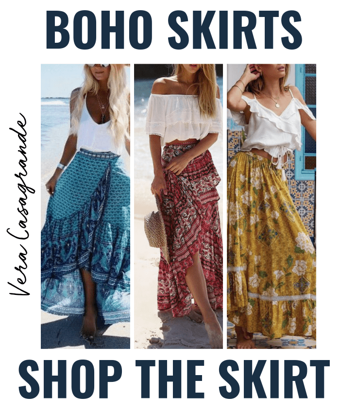 boho skirt bohemian skirts for women