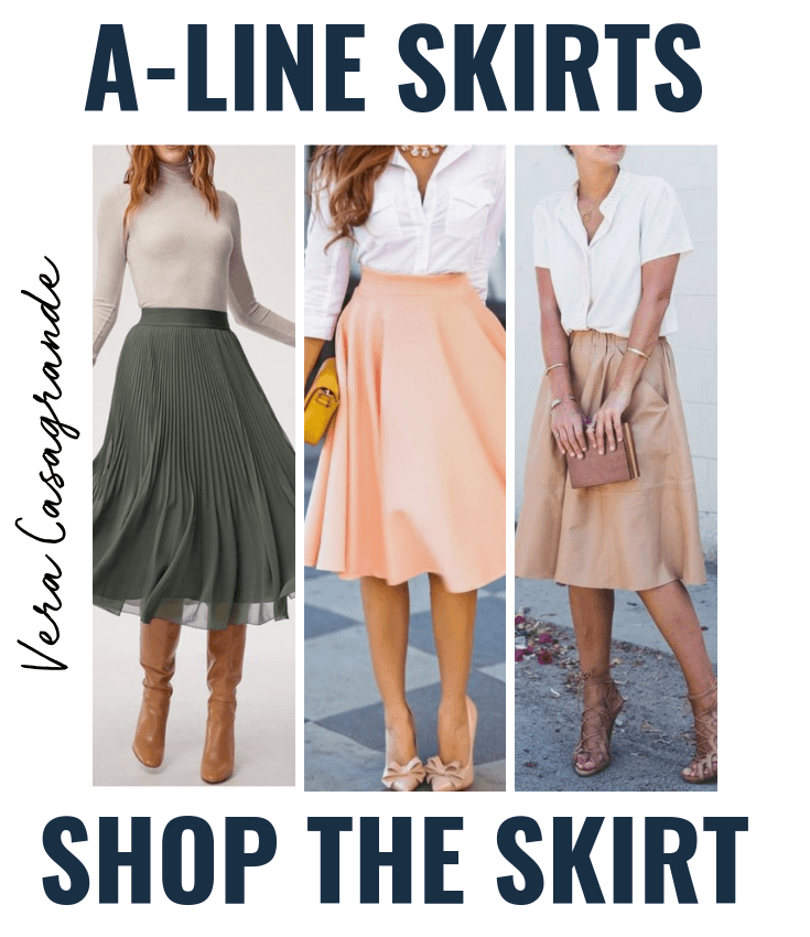 a line skirts A-line skirts for women