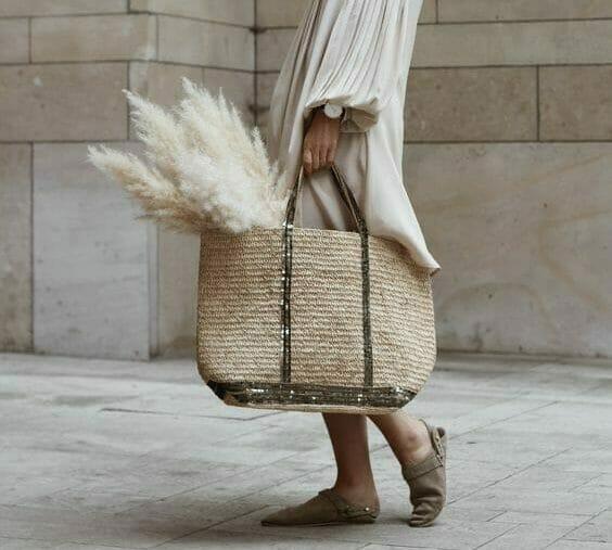 summer hand bag and beach bag