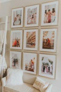 gallery walls living room home decor inspiration