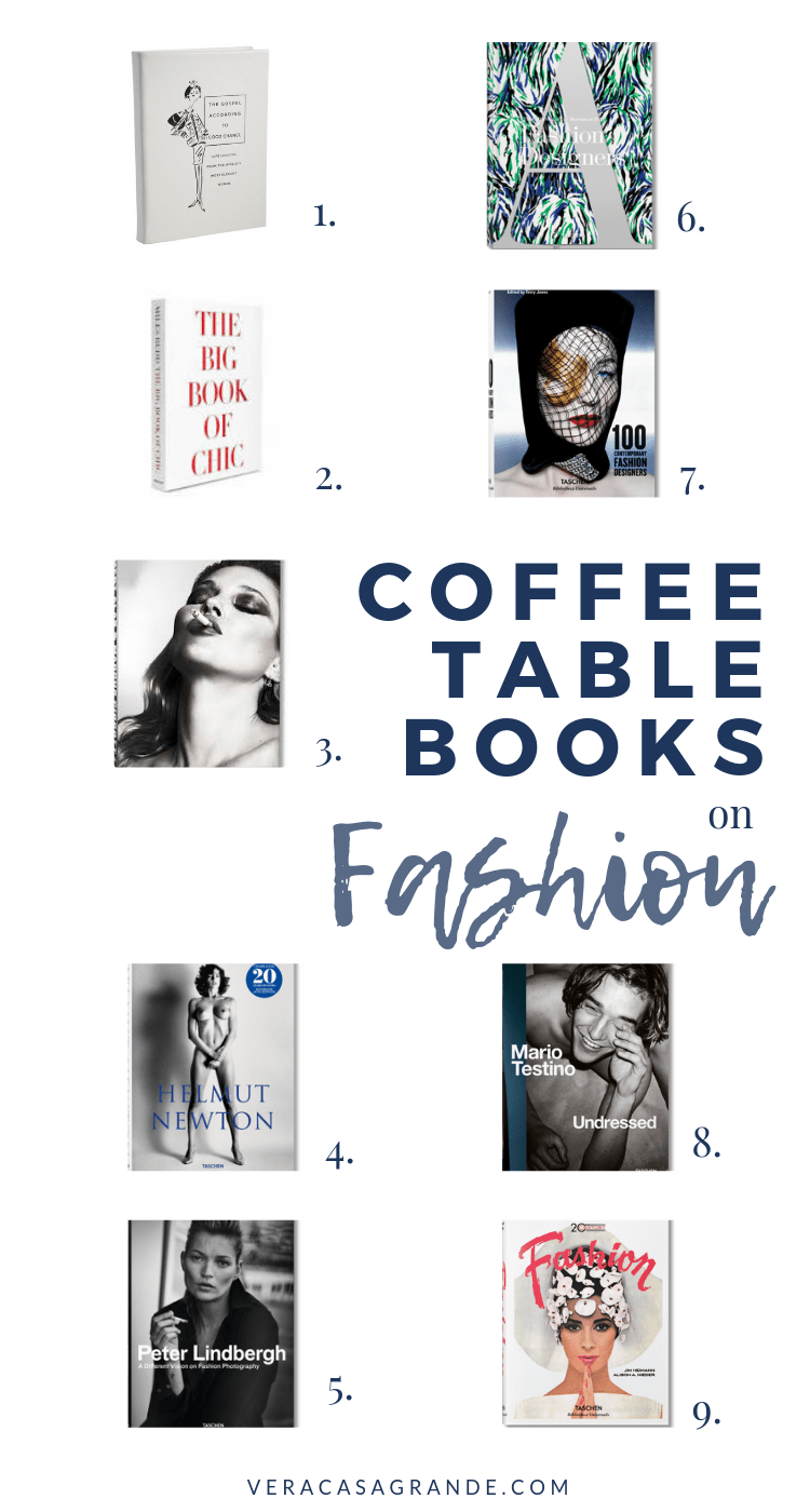 coffee table books on fashion