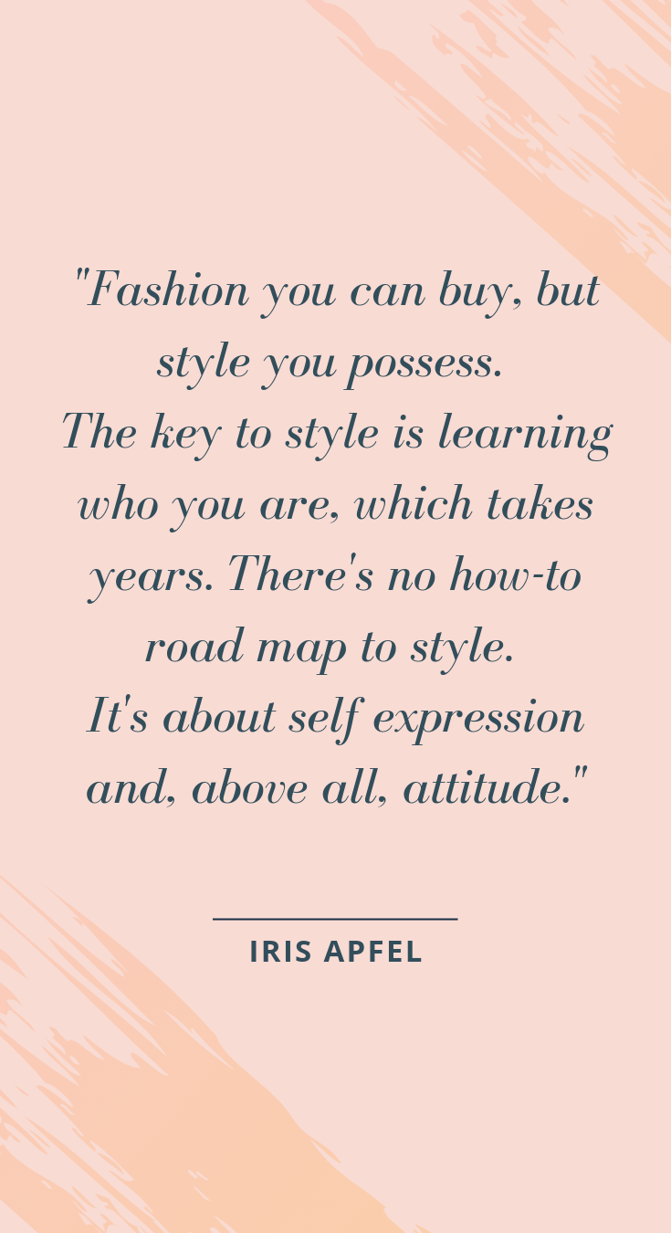 quote fashion quotes style and personal style