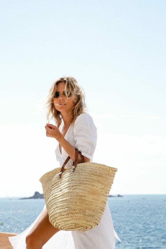 Summer Bag, Rattan Bag, Round Straw Bag, Summer Handbags outfits