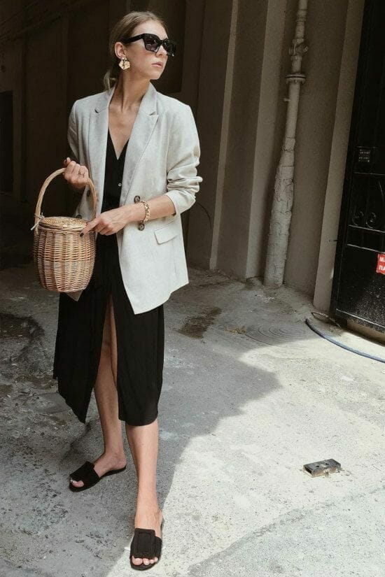 straw bag outfit Summer Handbags outfits