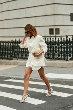 All white outfits for women for labor day.