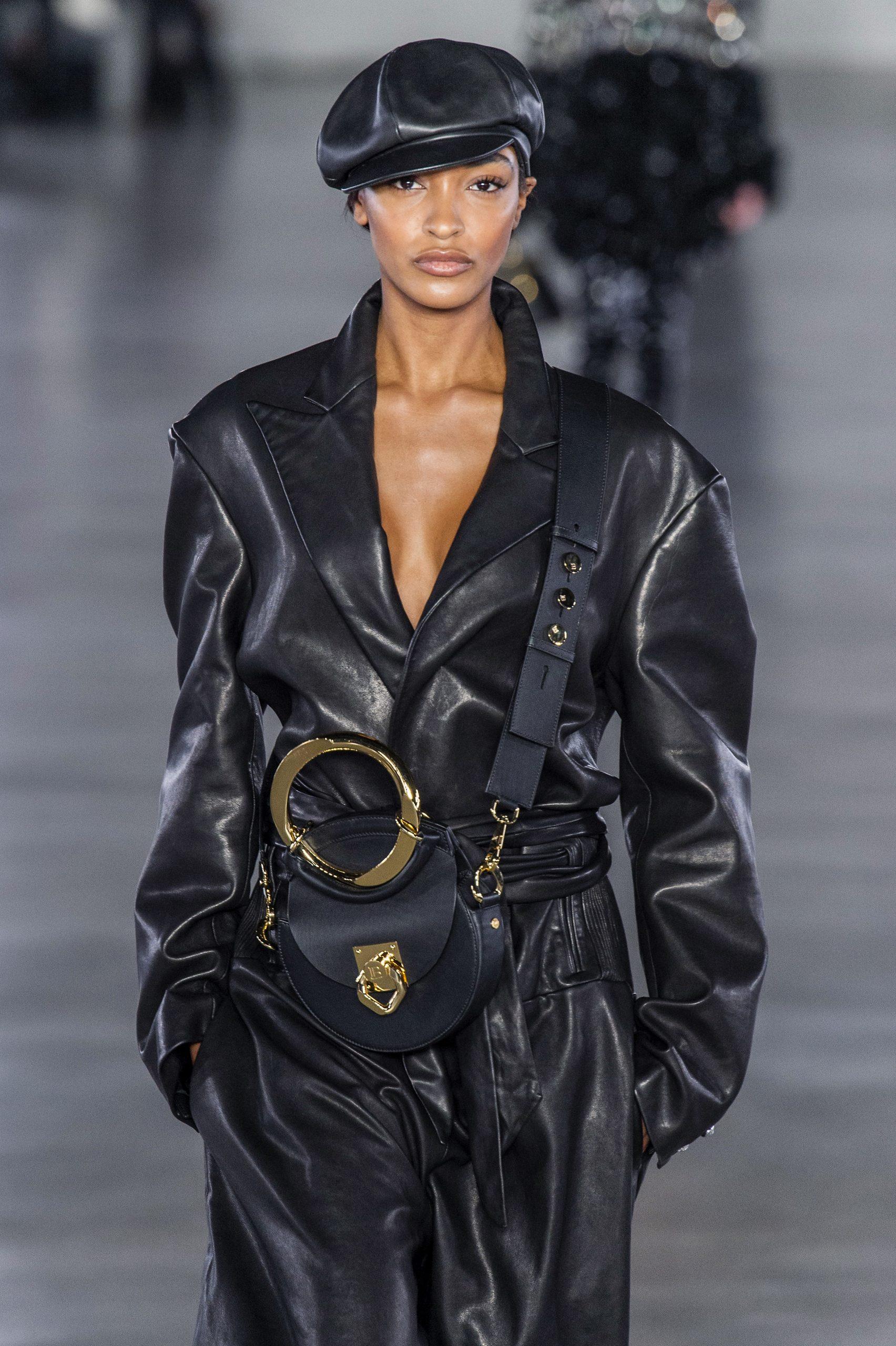 Balmain All Black Outfit