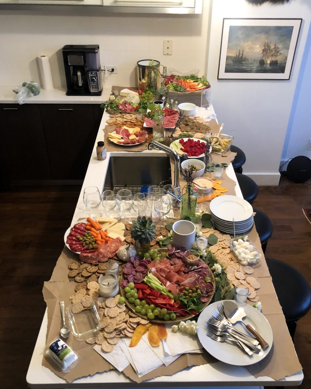 Grazing Table Party Table