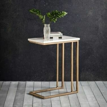 Marble C Table Laptop Table and Side Tables