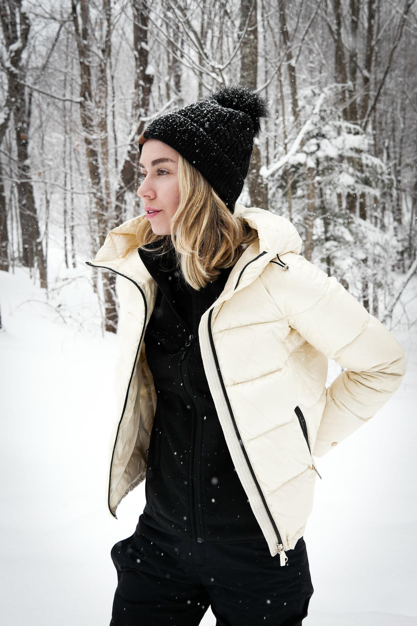Ski trip outfit idea