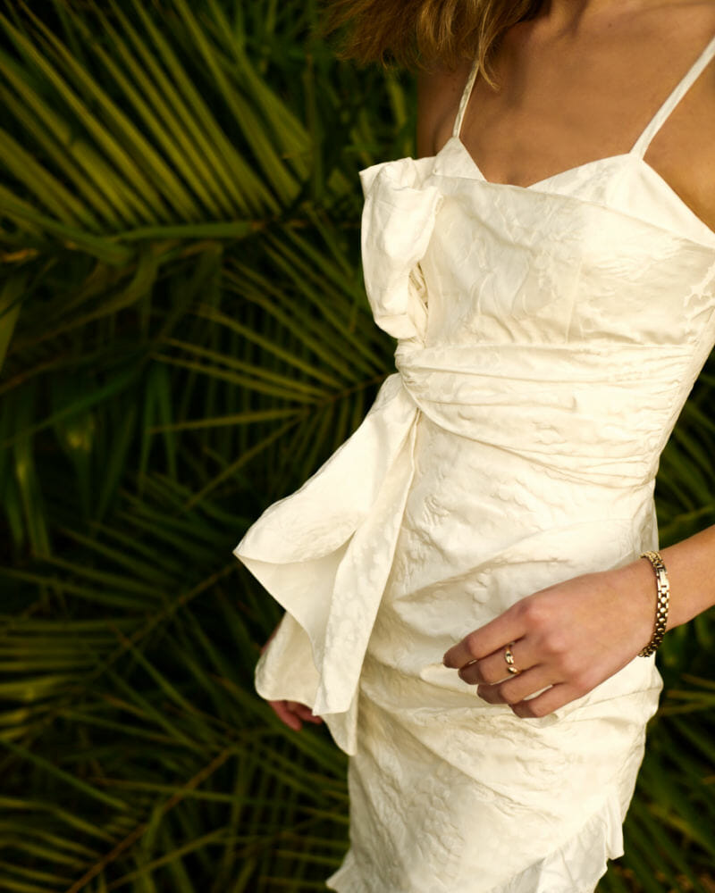 Flor Et Al Oaxaca Leopard Print Bow Dress summer outfits, summer dresses,