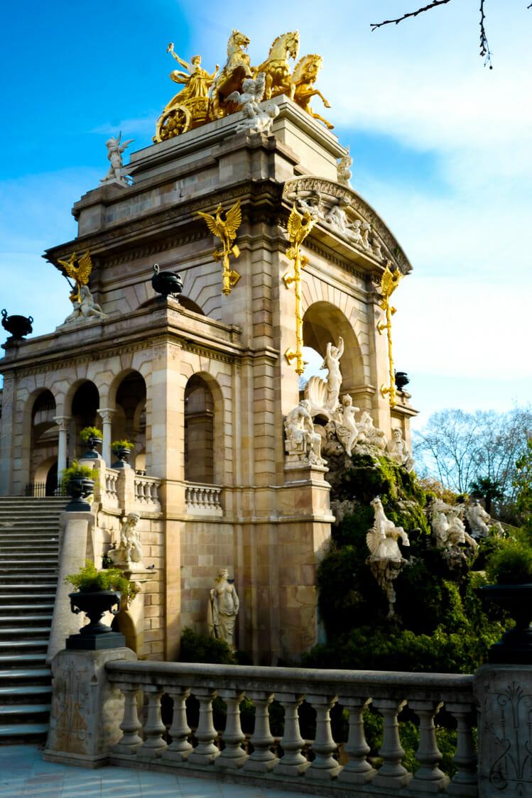 cascada de citudel barcelona Barcelona Spain travel guide