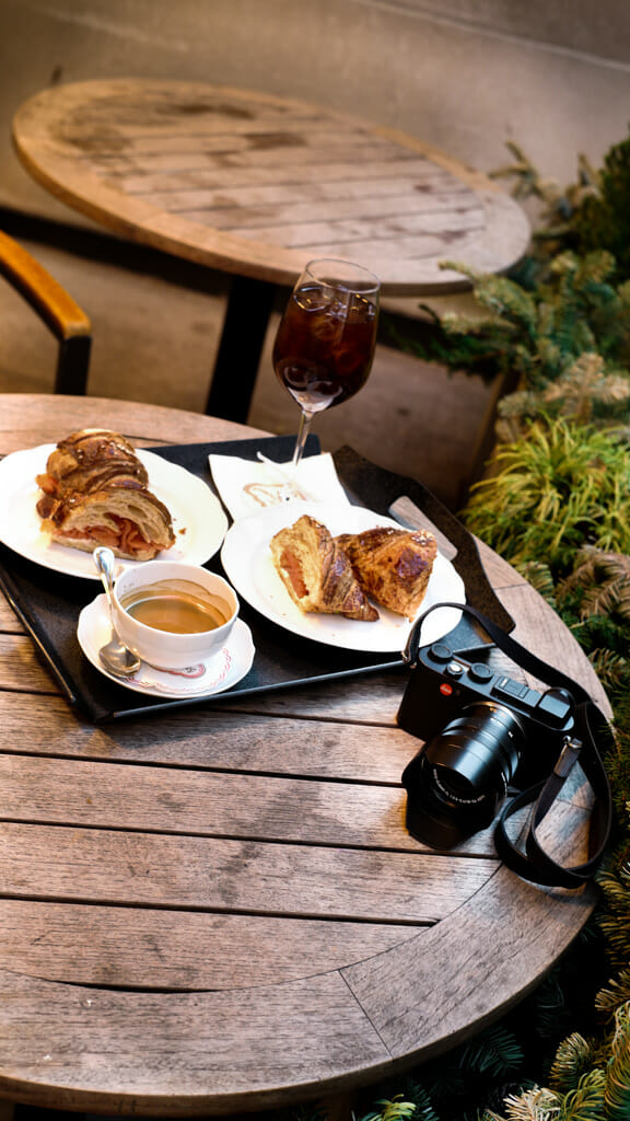 Food photography is fun with a great camera like the Leica CL.