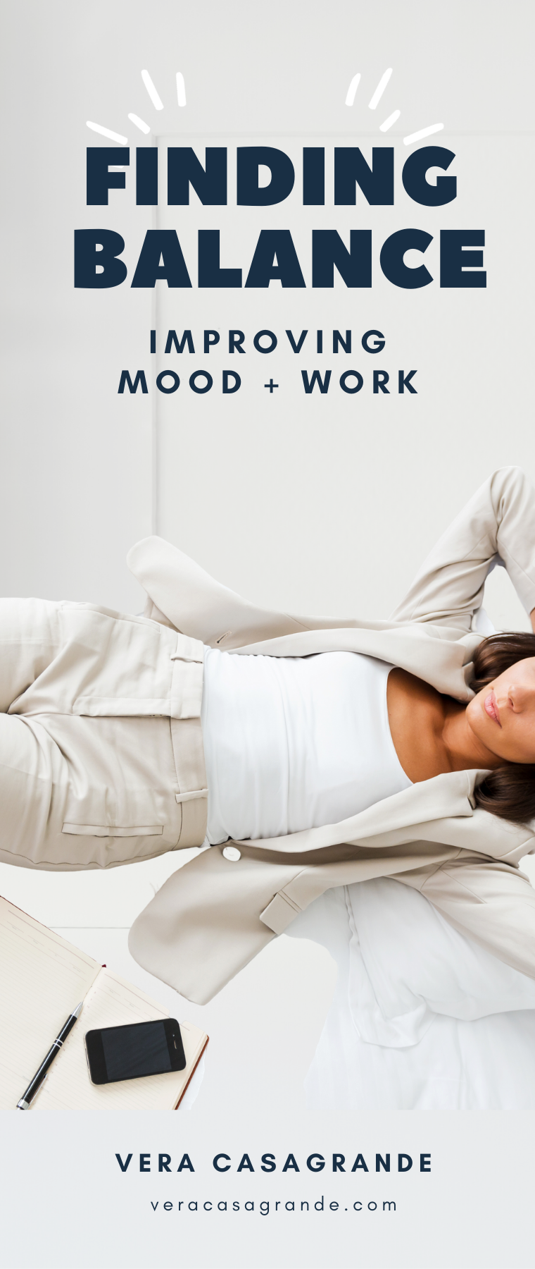 Vera Casagrande discusses finding balance, reducing anxiety, stress and improving mood while at home.