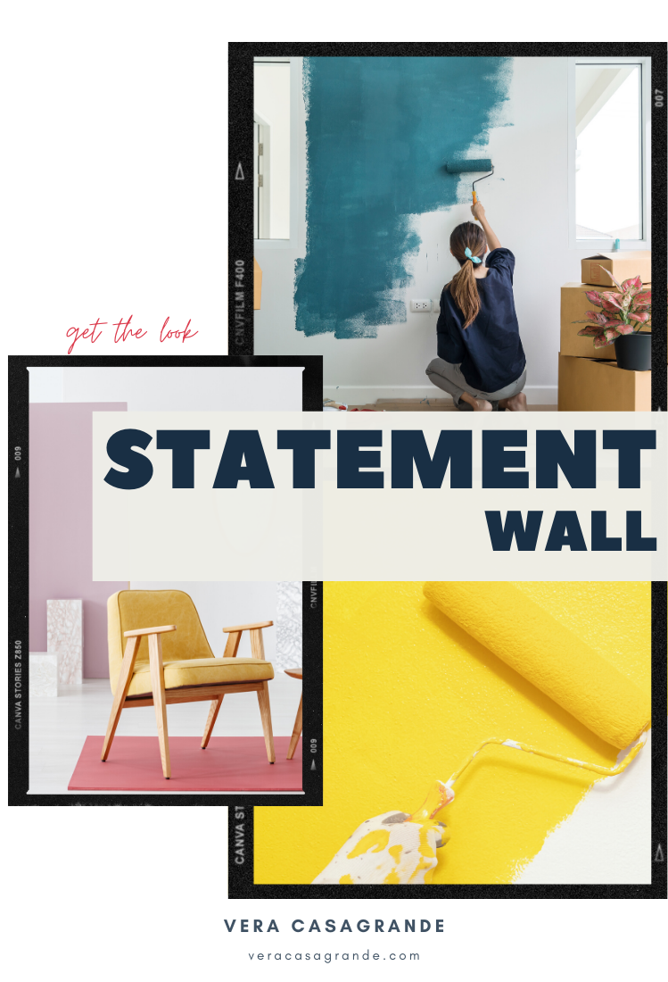 Learn how to create a statement wall in your space