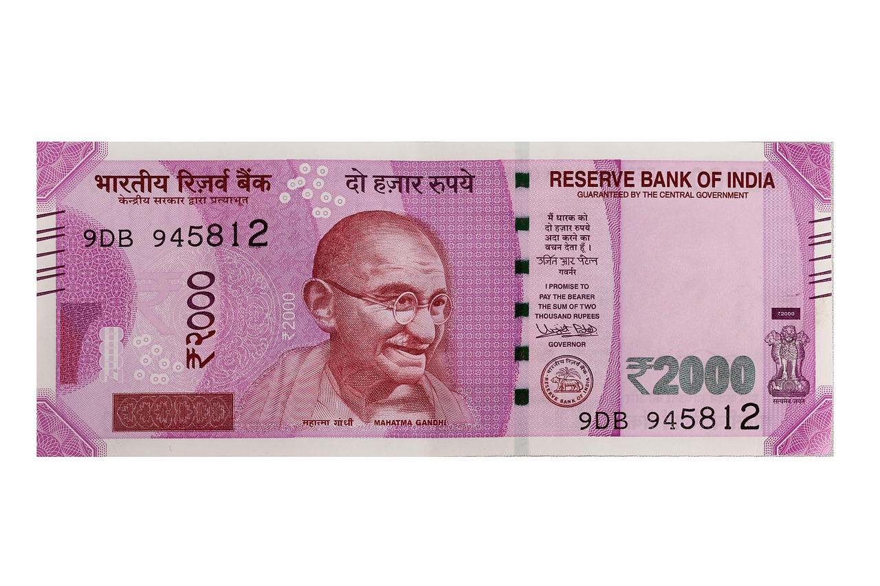 currency, india, new currency